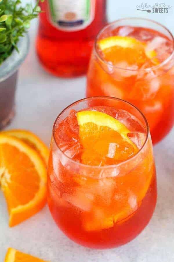 aperol spritz champagne cocktail