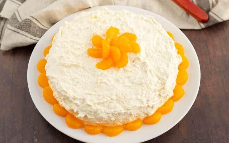 white pea pickin cake, mandarin orange cake pig pickin cake