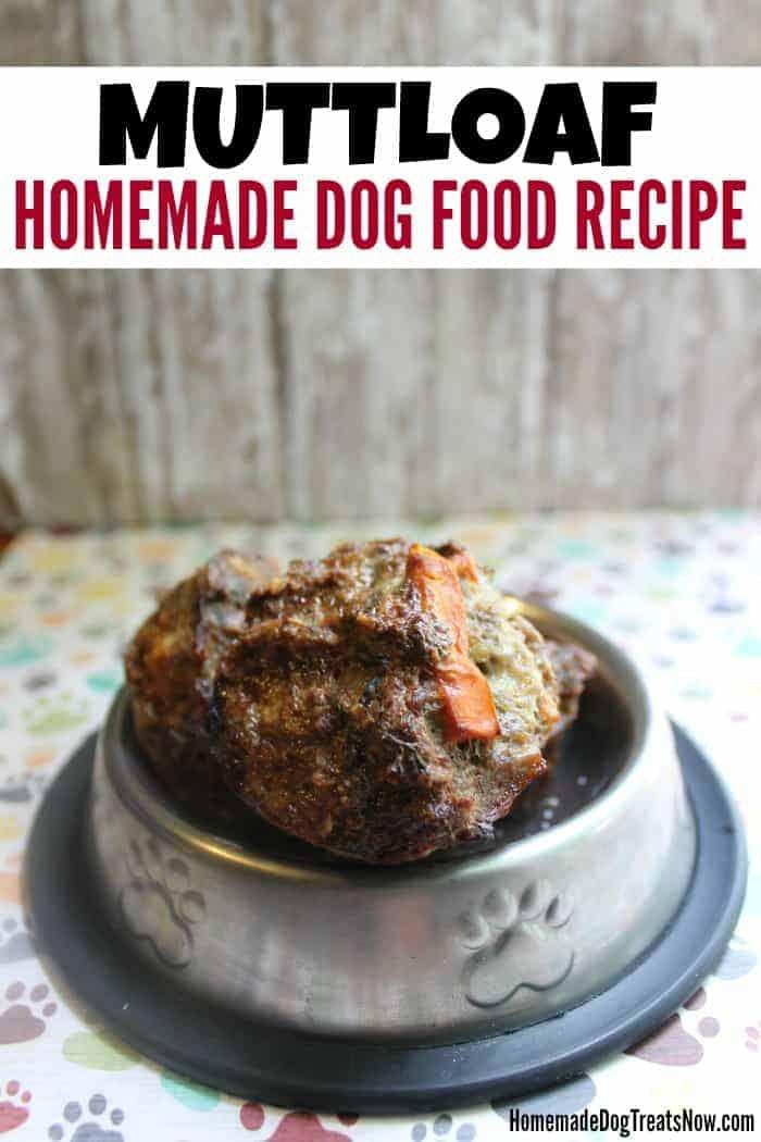 Muttloaf Homemade Dog Food