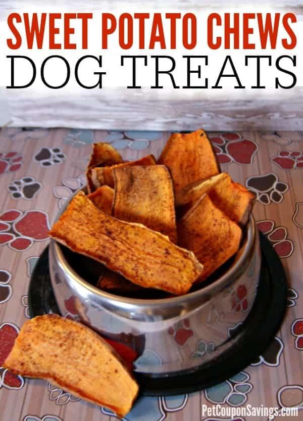 Homemade Sweet Potato Chews Dog Treats