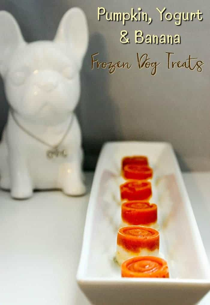 Frozen Dog Treats Recipe – Pumpkin, Yogurt, and Banana