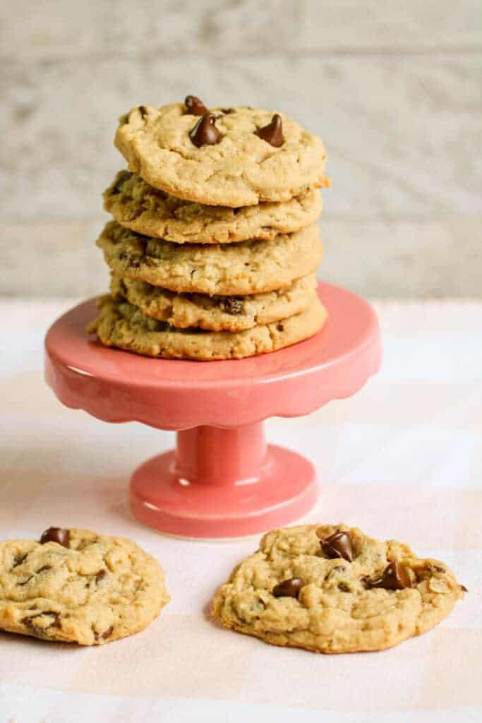 cookies on a cookie tier